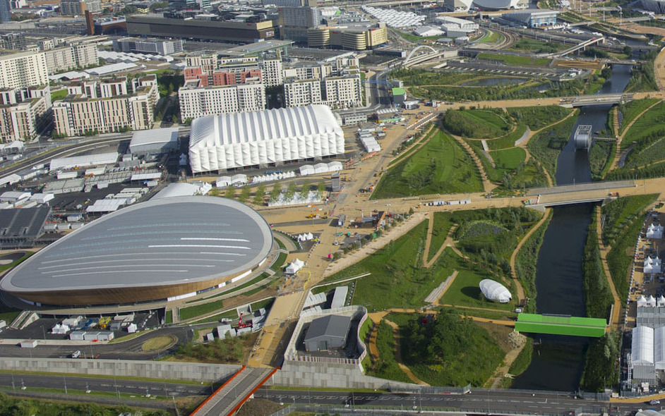 London Olympics Velodrome - Jason Hawkes