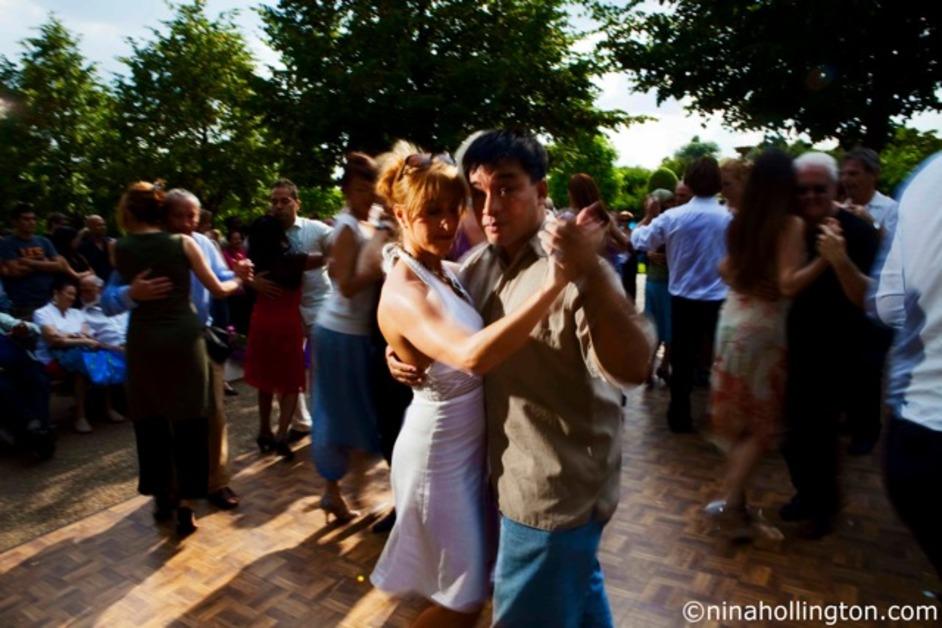 Dance Al Fresco - Courtesy of Nina Hollington