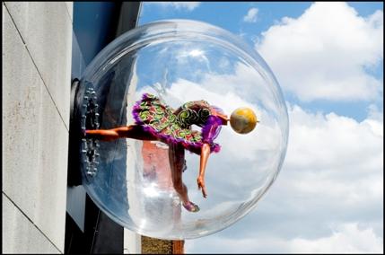 Yinka Shonibare: Globe Head Ballerina