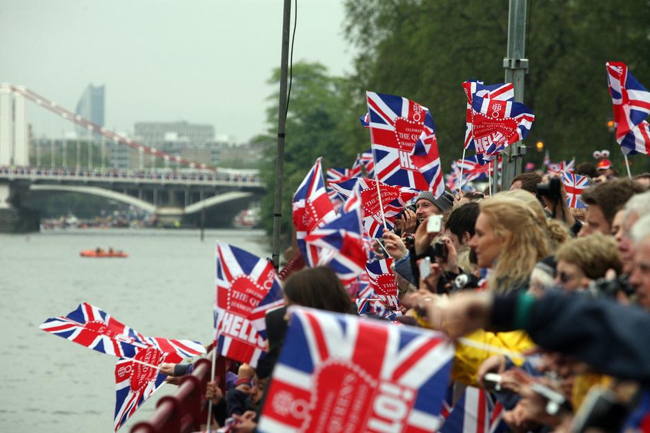 Thames Diamond Jubilee Pageant - Photo by Matt Writtle