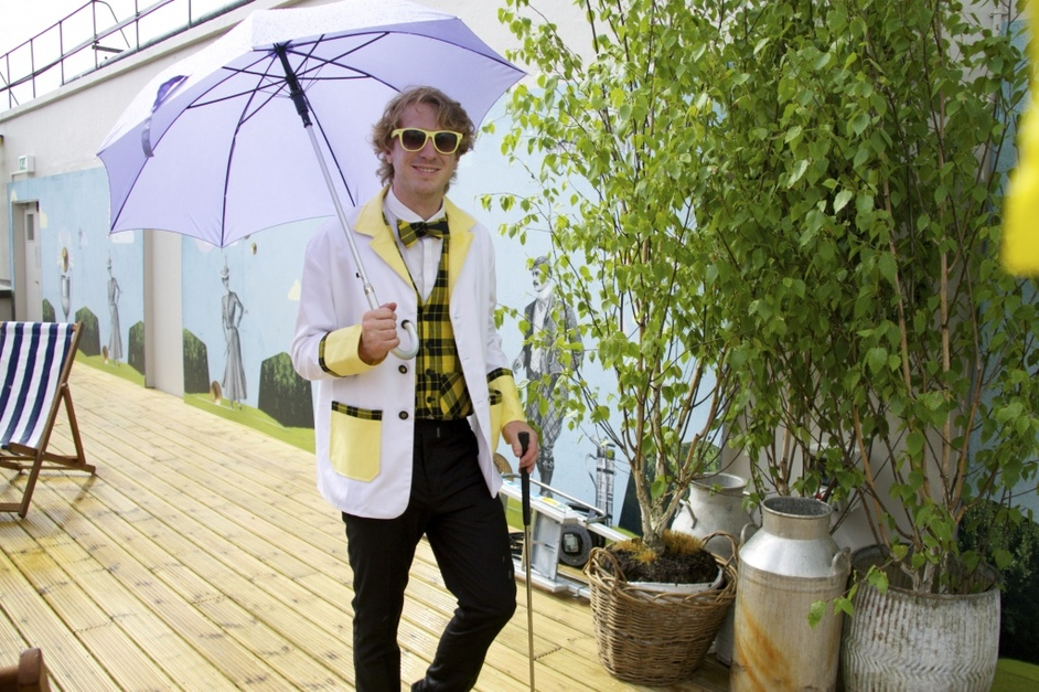 The Big Roof Top Tea and Golf Party - Images supplied by Selfridges