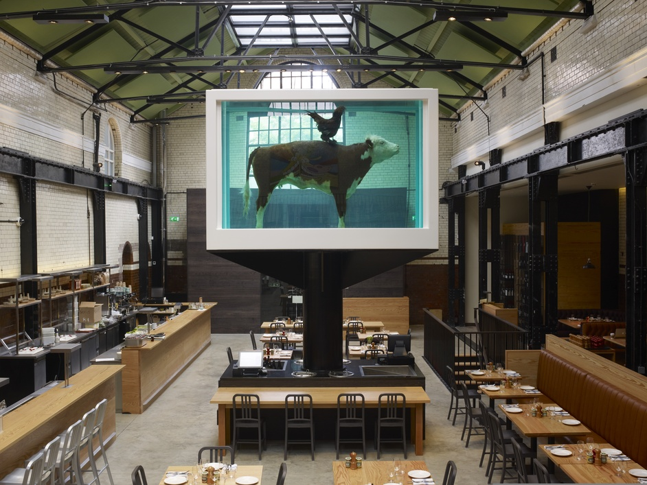 HIX at The Tramshed - copyright Damien Hirst, 2012