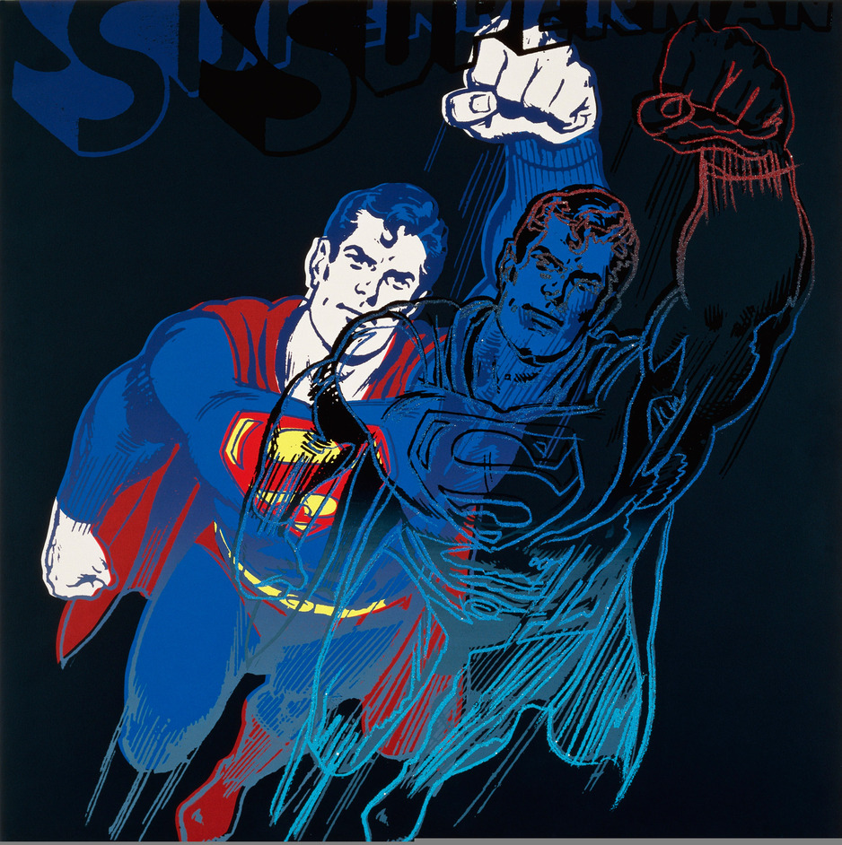 Andy Warhol: The Portfolios - Andy Warhol, Superman © Ron Feldman / The Andy Warhol Foundation for the Visual Arts / Corbis / Artists Rights Society (ARS), New York / DACS, London 2011