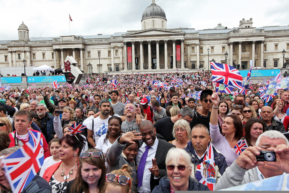 Our Greatest Team Parade - The Queen's Diamond Jubilee. Photo by Kois Miah
