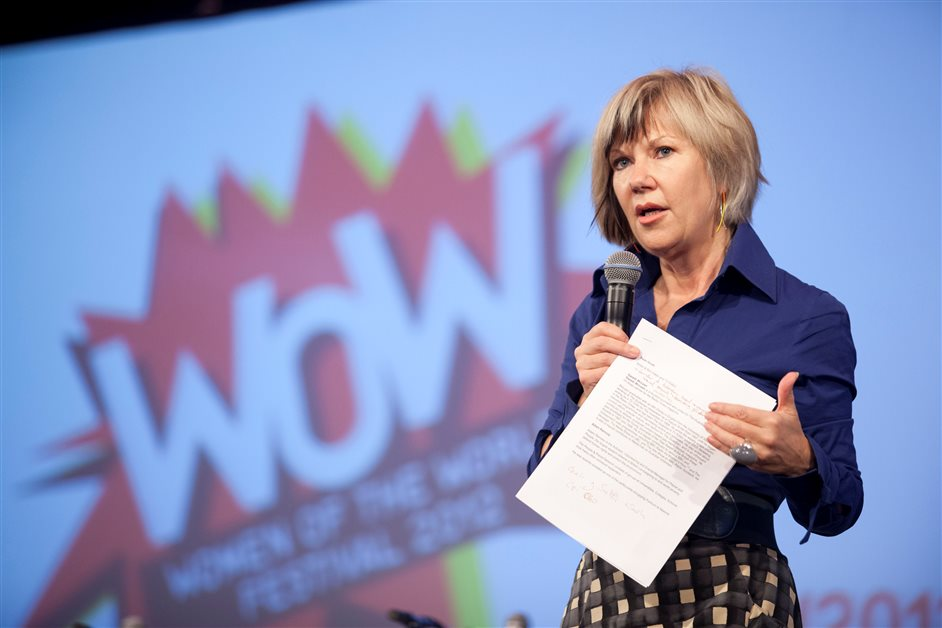 WOW - Women of the World - Jude Kelly_WOW 2012_CREDIT Belinda Lawley