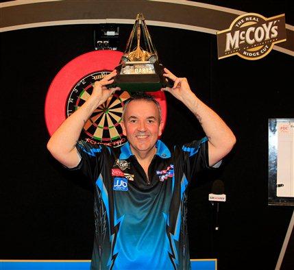 McCoy's Premier League Darts - Phil Taylor, May 2012