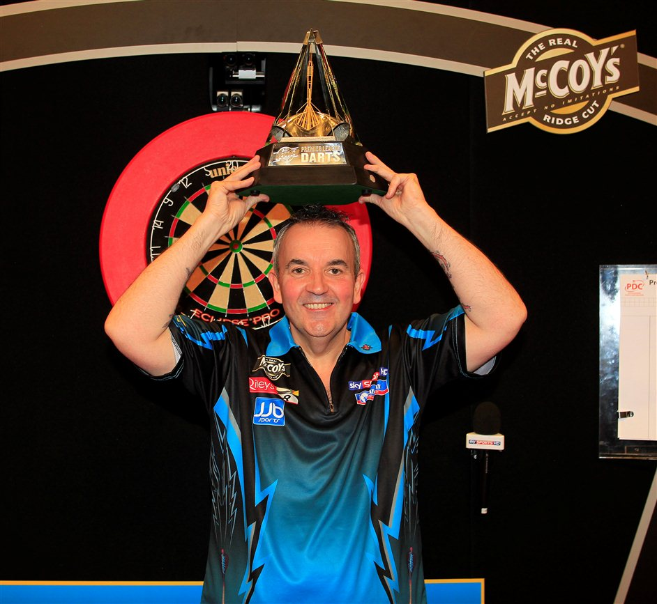 McCoy's Premier League Darts - Phil Taylor, May 2012