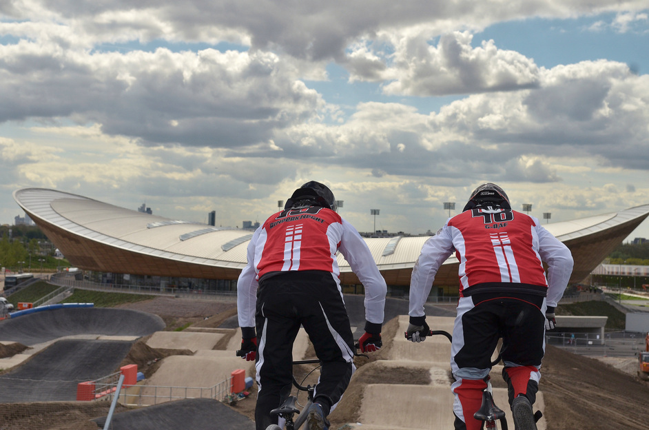 London Olympics BMX Track