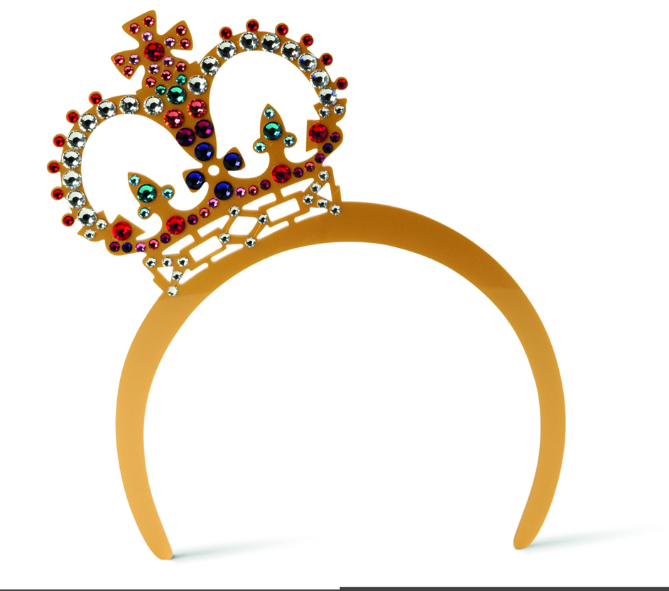 The Big British Bang - Tatty Devine Gold Crown Tiara