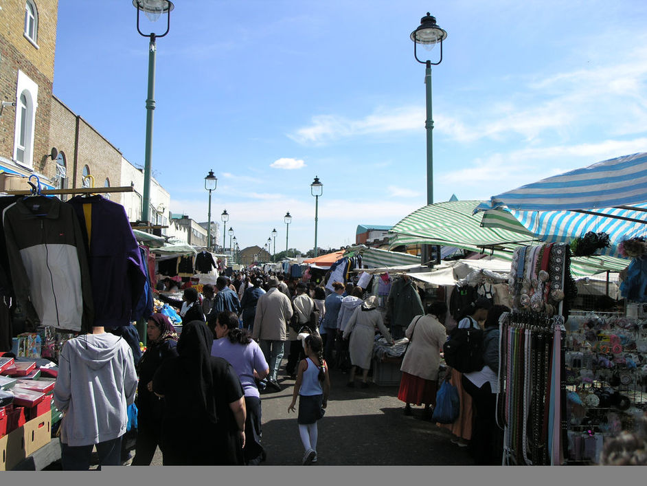 Ridley Road Market - Photo credit: Serk