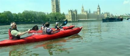 Kayaking London