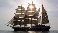 Tenacious - Beautiful sailing ship launched in 2000 and run by the Jubilee Sailing Trust