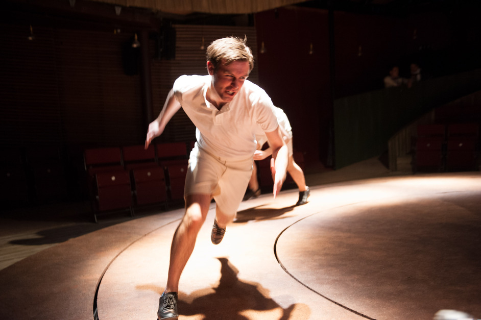 Chariots Of Fire - Cahriots of Fire - James McArdle. Photo courtesy of Manuel Harlan