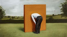 Oliver Jeffers: Nothing To See Here - Oliver Jeffers, The Wall by Oliver Jeffers