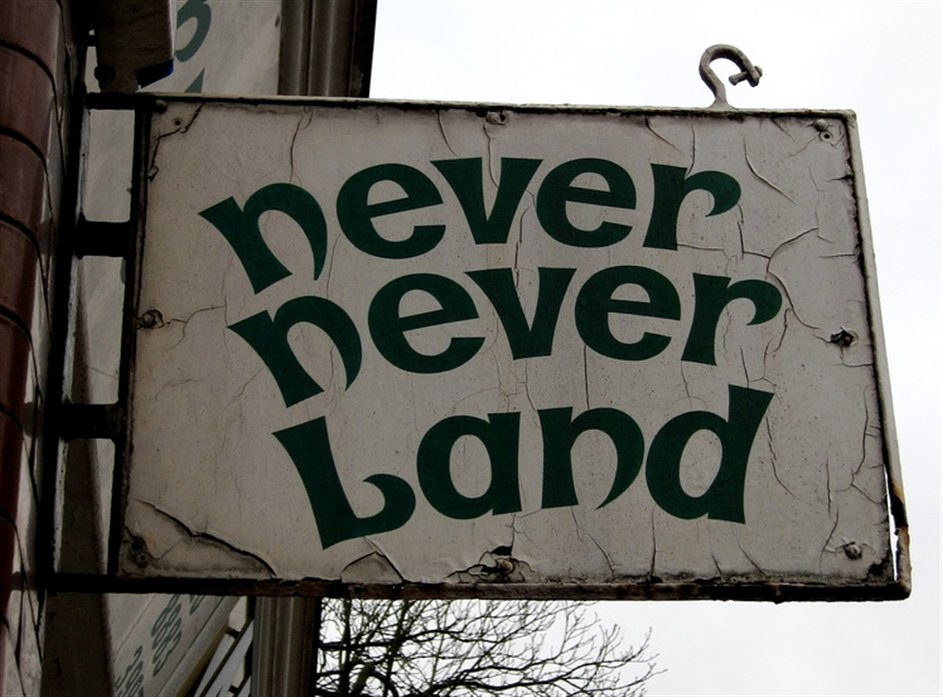 Never Never Land - Credit DG Jones