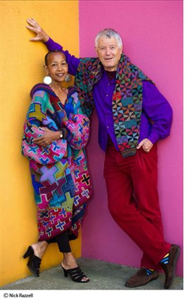 Kaffe Fassett - A Life in Colour - Kaffe Fassett, photo by Nick Razzell
