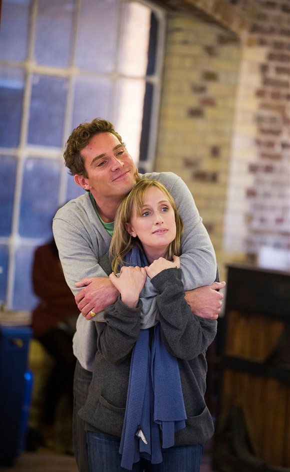 Merrily We Roll Along - Jenna Russell and Mark Umbers © Tristram Kenton