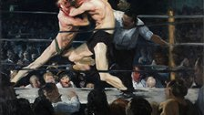 George Bellows, &#39;Stag at Sharkey&#39;s&#39;, 1909 - Hinman B. Hurlbut Collection &#169; The Cleveland Museum of Art
