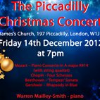 The Piccadilly Christmas Concert