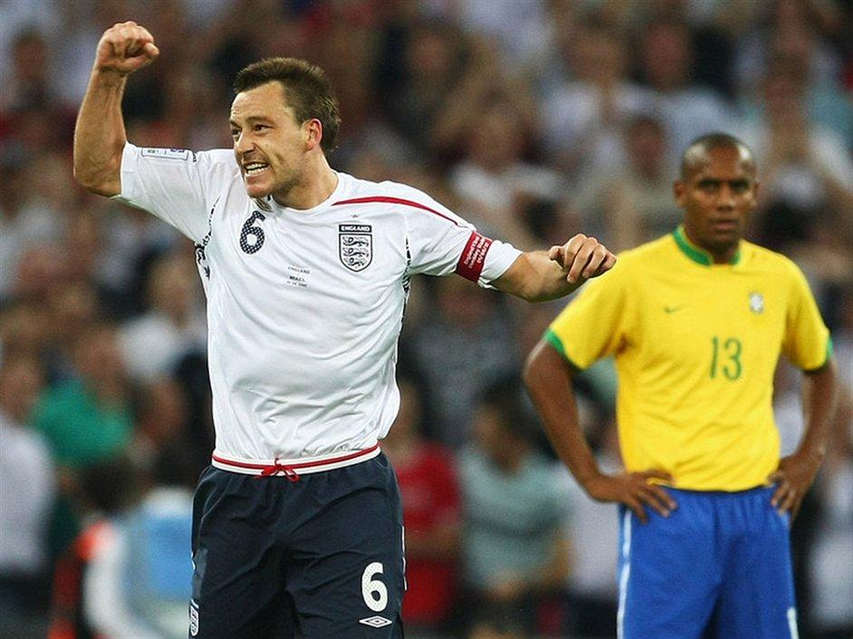 International Friendly: England v Brazil