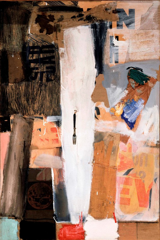 The Bride and the Bachelors: Duchamp with Cage, Cunningham, Rauschenberg and Johns - Robert Rauschenberg, Bride's Folly, 1959