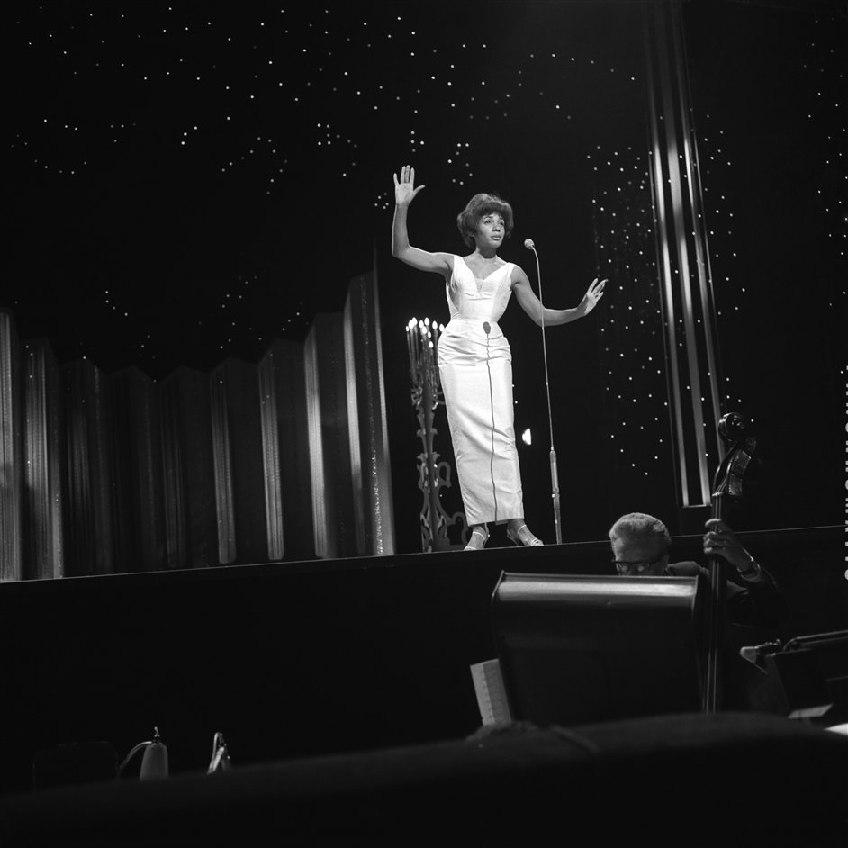 Halfway to Paradise: The Birth of British Rock - Shirley Bassey at the London Palladium. Photograph by Harry Hammond