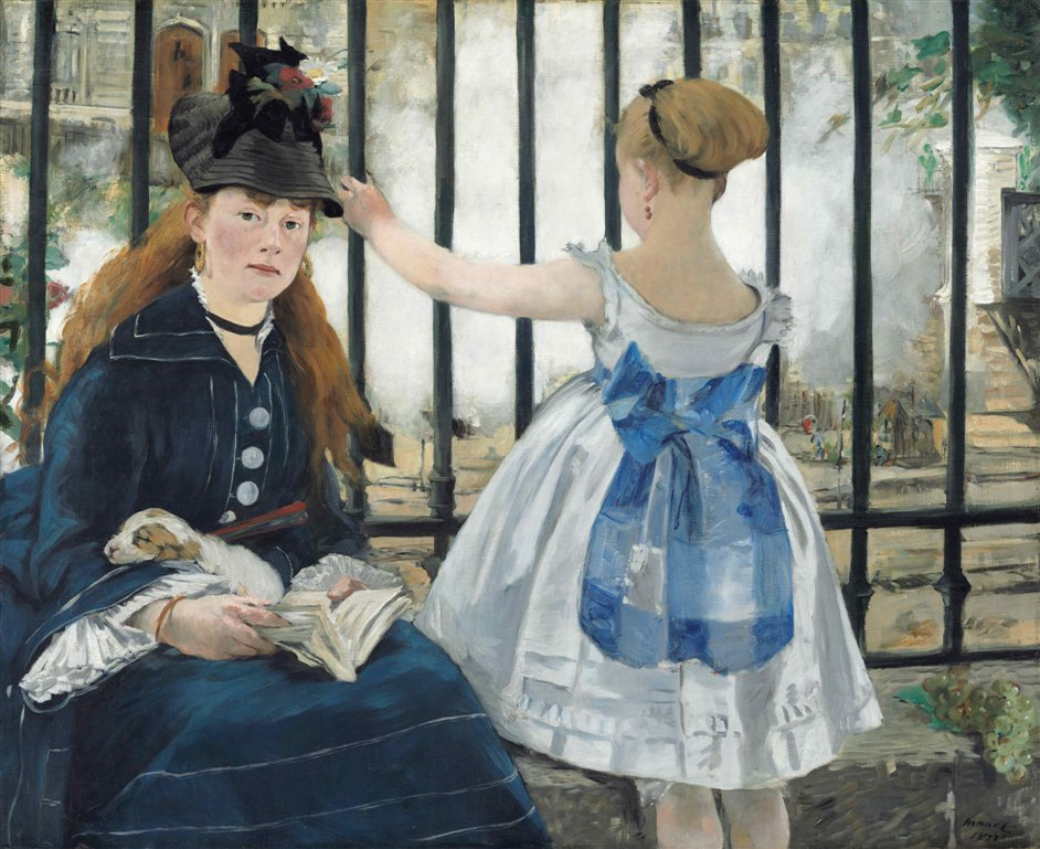 Manet: Portraying Life - The Railway, 1873, National Gallery of Art, Washington