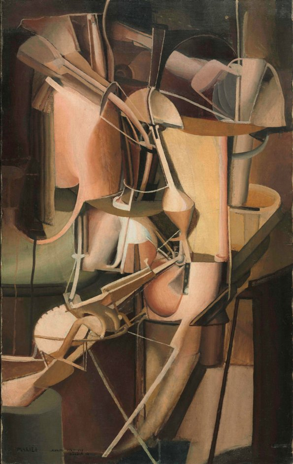 The Bride and the Bachelors: Duchamp with Cage, Cunningham, Rauschenberg and Johns - Duchamp, Bride, 1912