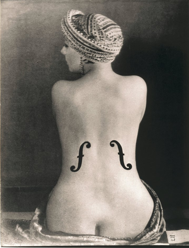 Man Ray Portraits - Le Violon d'Ingres, 1924 by Man Ray. Museum Ludwig � Man Ray Trust