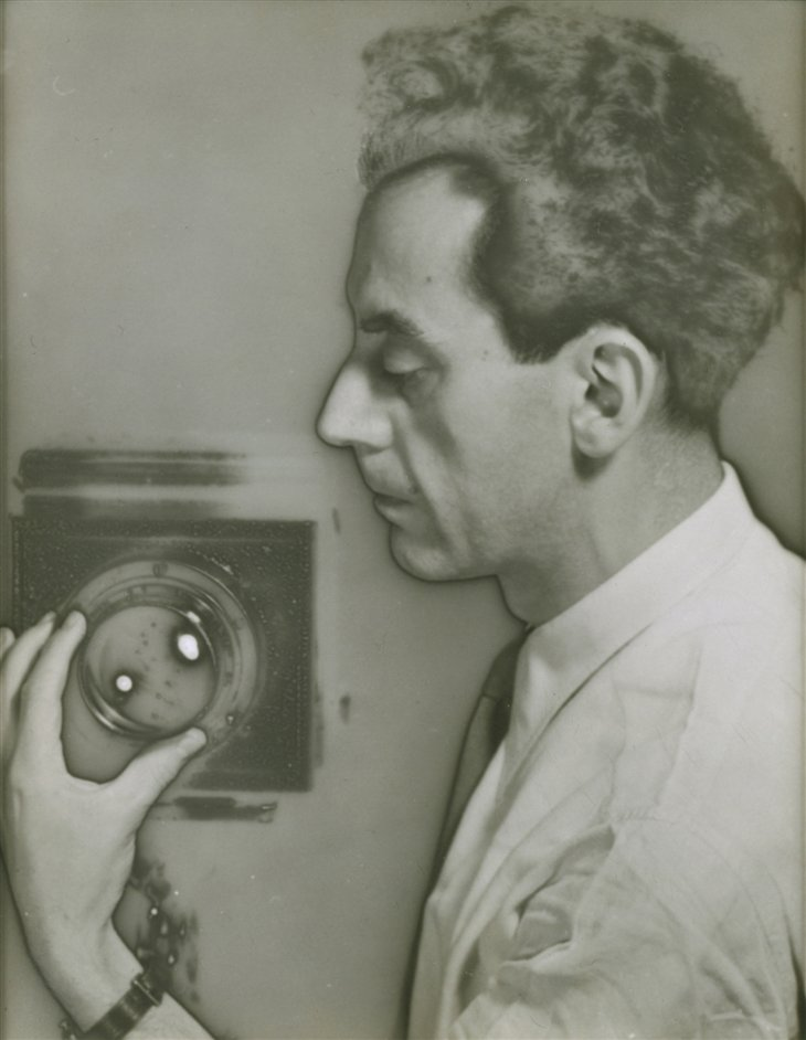 Man Ray Portraits - Man Ray Self-Portrait with Camera, 1932 by Man Ray. The Jewish Museum � Man Ray Trust
