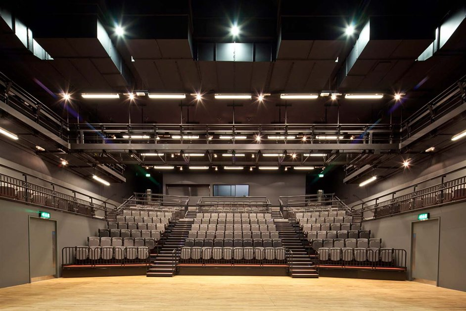 Central Saint Martins College of Art and Design - Central Saint Martins performing arts centre by Stanton Williams architects includes a 350-seat theatre