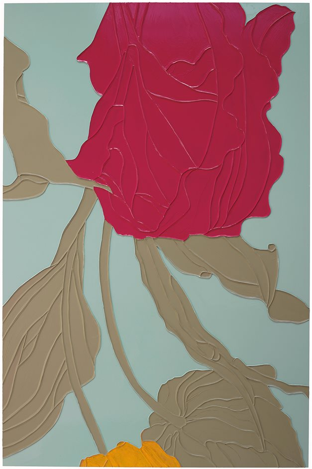Gary Hume - Gary Hume, Tulips 2009 - Private collection � Gary Hume