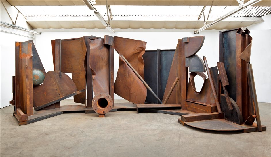 Royal Academy Summer Exhibition - Anthony Caro RA, Shadows, 2013 © Barford Sculptures Ltd. Photo by John Hammond
