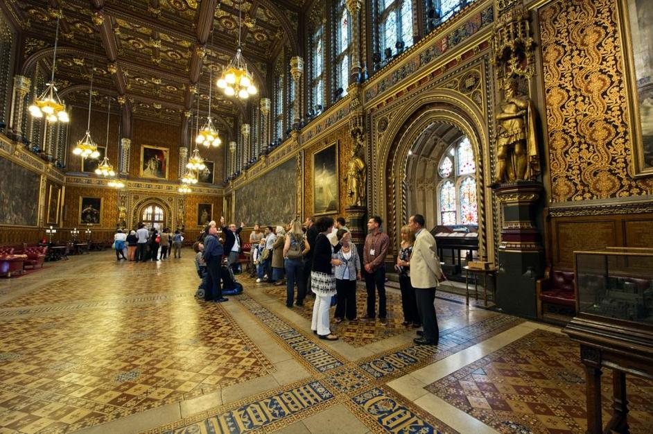 Houses of Parliament Guided Tours