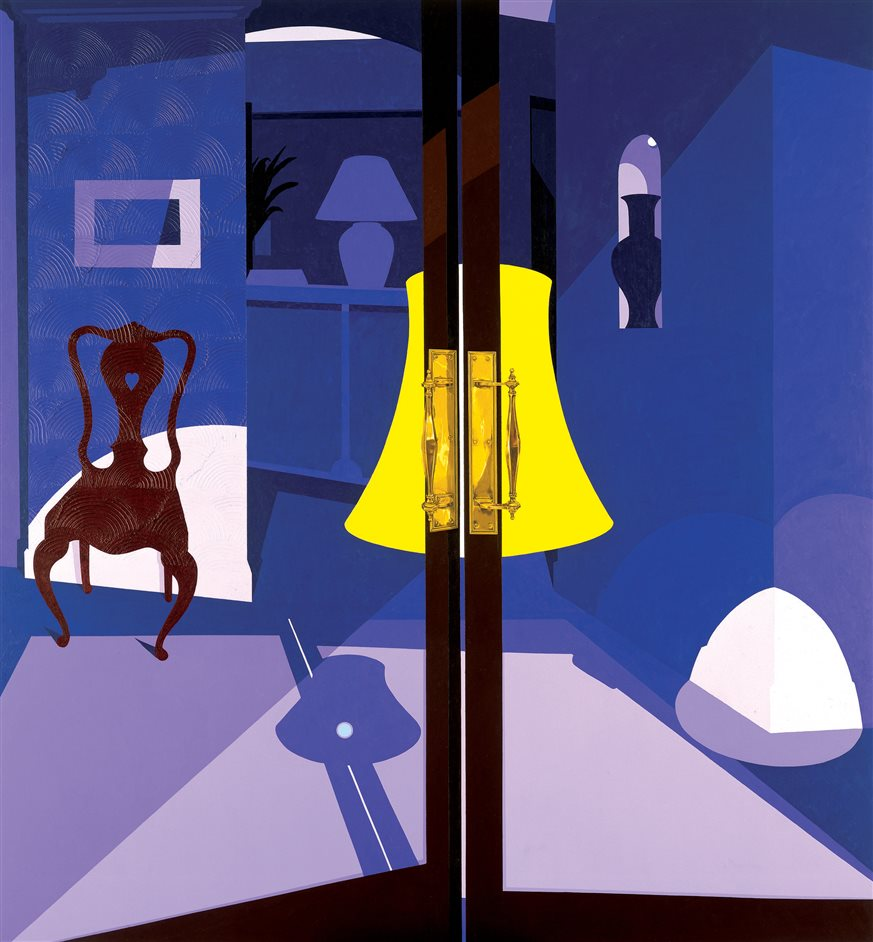Patrick Caulfield - Patrick Caulfield, Bishops 2004 © The estate of Patrick Caulfield