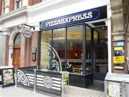 Pizza Express Victoria Street London Restaurantsitalian