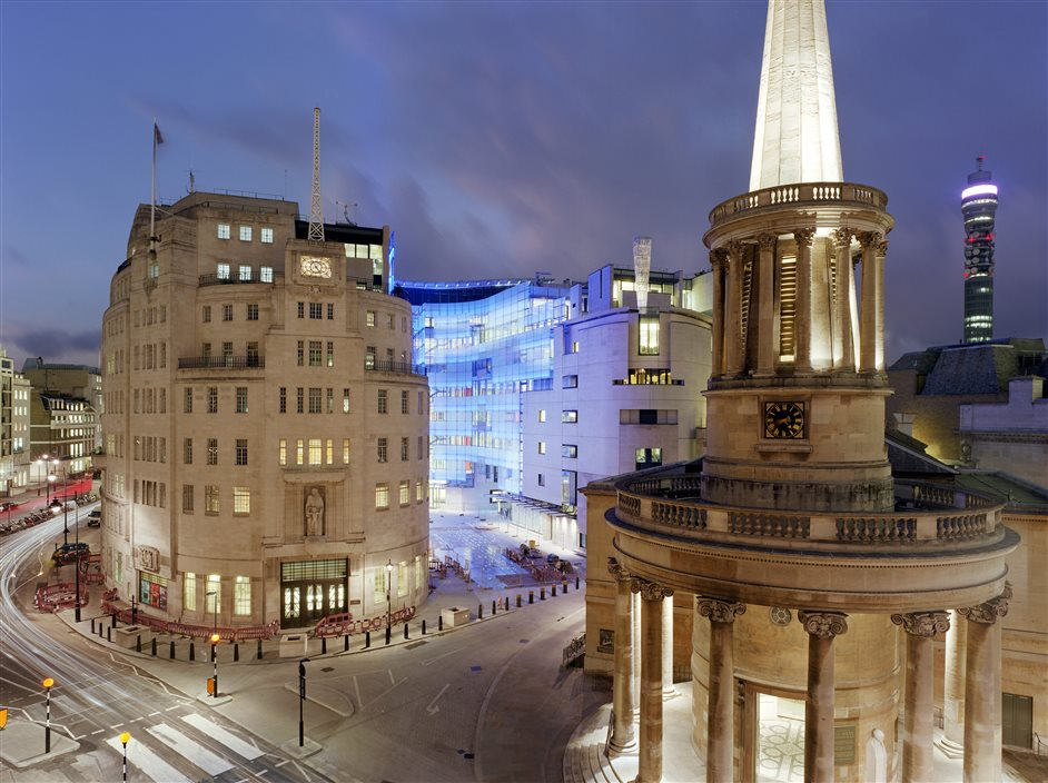 BBC Broadcasting House - Photo by Simon Kennedy