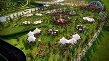 Open East Festival: Queen Elizabeth Olympic Park (Artist's impression) - 27th & 28th July 2013