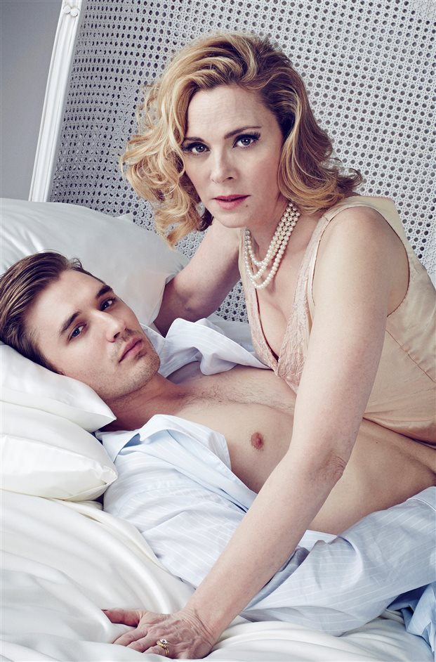 Sweet Bird of Youth - Seth Numrich and Kim Cattrall. Photo by Jay Brooks