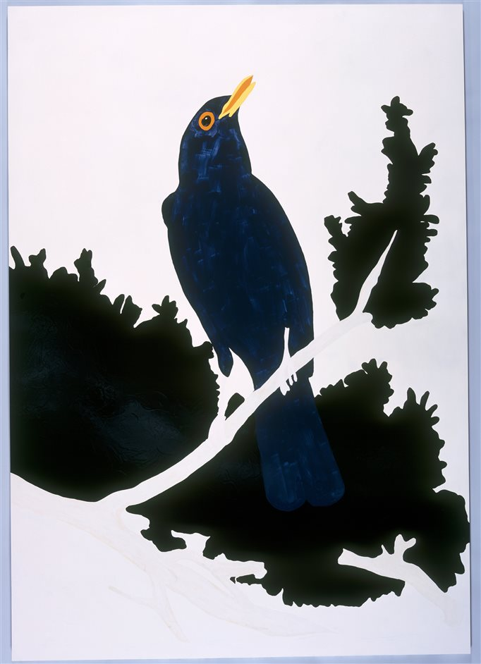 Gary Hume - Gary Hume, Blackbird 1998 - Private collection © Gary Hume