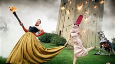 Isabella Blow: Fashion Galore! - Alexander McQueen and Isabella Blow:,,Burning Down The House, 1996, London by David LaChapelle Studio, Inc.
