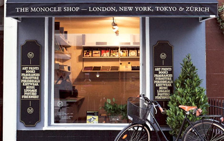 The Monocle Shop - © Alex Barlow