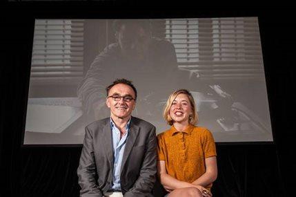 Danny Boyle's SHUFFLE Festival - Shuffle curator Danny Boyle and event organiser Kate MacTiernan