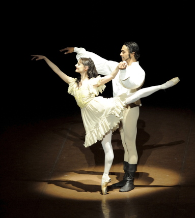 Stuttgart Ballet: The Taming Of The Shrew Made In Germany - The Taming of the Shrew, dancers Maria Eichwald and Jason Reilly
