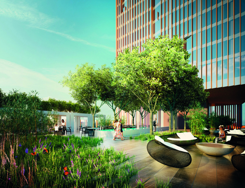 The Stratford - Manhattan Loft Gardens - by Manhattan Loft Corporation