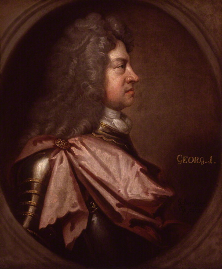 Georgians Revealed - Portrait of George I © National Portrait Gallery
