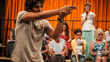 The Events, Young Vic by Stephen Cummiskey