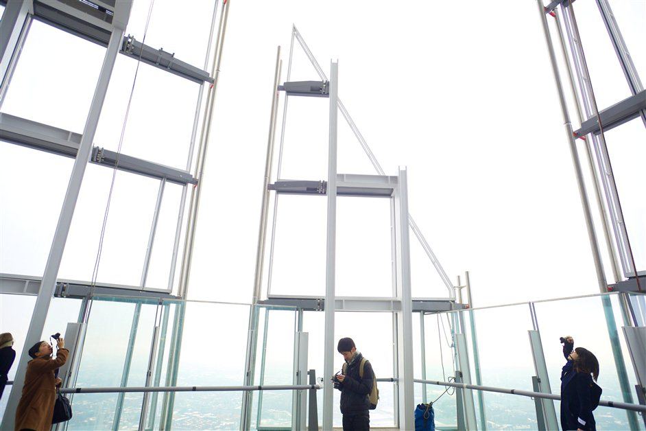 The View from The Shard - Level 72 of The Shard, partially open-air © The View from The Shard