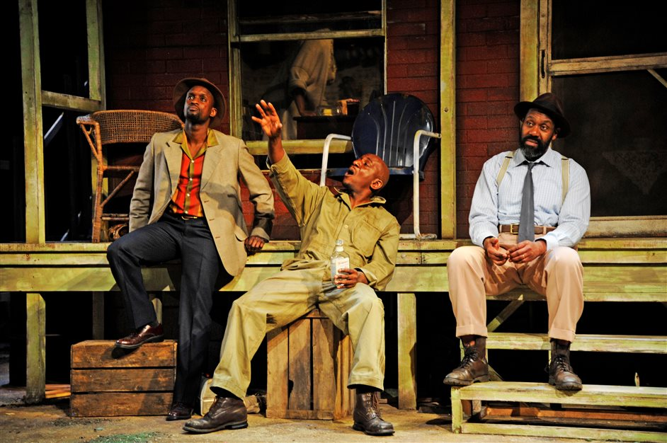 Fences - Fences - starring Lenny Henry and Tanya Moodie, photo by Nobby Clark