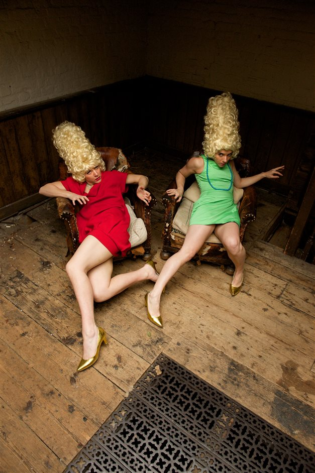 Spring Loaded - Amy Bell & Valentina Golfieri, I Just Close My Eyes: Here Are The Devils. Photo by Chris Nash